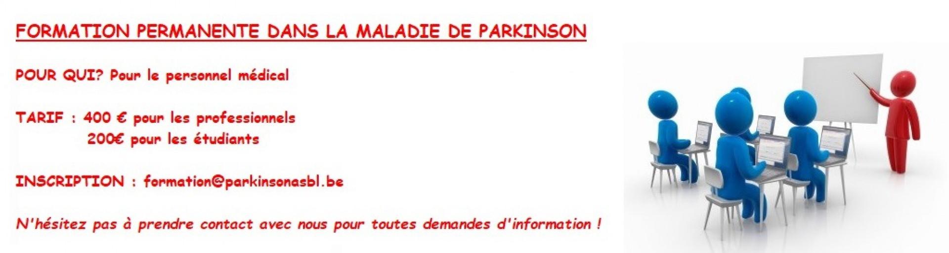 Association Parkinson - Ensemble bien plus forts !